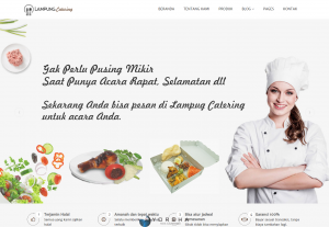 Website Company Profile Catering