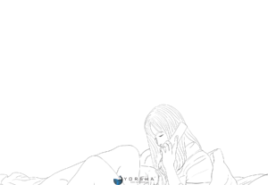 LineArt illustration / simple drawing