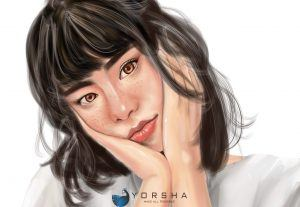 Jasa lukis digital painting