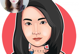 Avatar Cartoon Vector Portrait