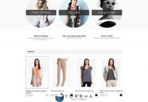 Web Design Shopify Store
