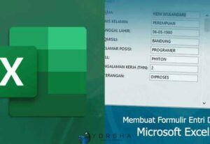 Jasa Entry Data atau input data microsoft excel, word dan pdf / entry data di web